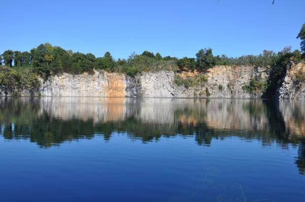 The rock quarry in Winston-Salem is closed to the public.