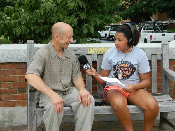 Radio Camper Emma Heard interviews Jacob Felder