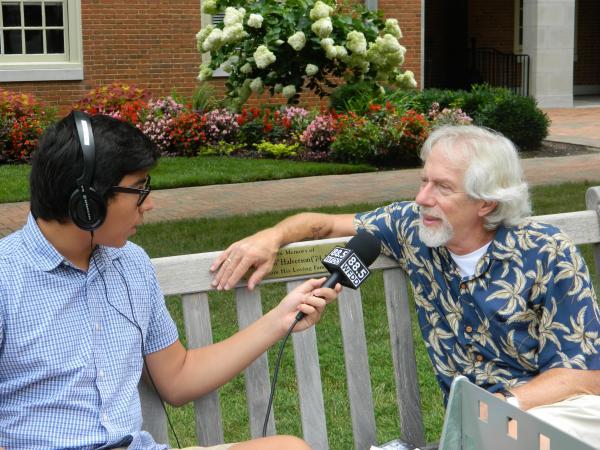 Radio Camper Patrick Camara and Dale Pollock