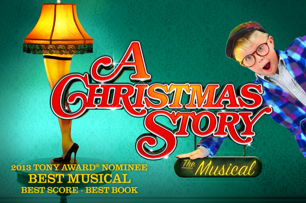titusville playhouse presents a christmas story the musical wfit - A Christmas Story Musical