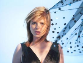Jazz vocalist Simone Kopmajer