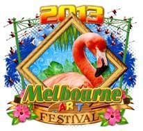 Melbourne Art Festival 2013 poster