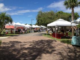 Market Day at Florida Tech