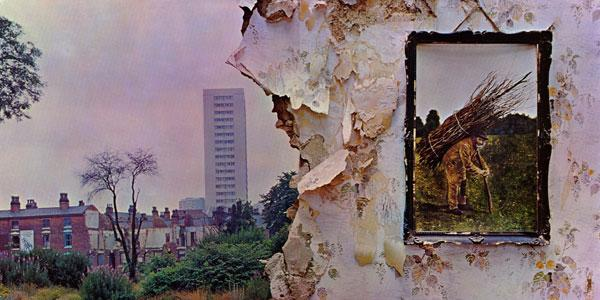 Album cover art, Led Zeppelin IV.