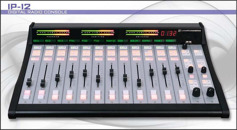 2 Broadcast Consoles. 12 Channel IP mixing board for the broadcast and editing studios at $7,995 each. 