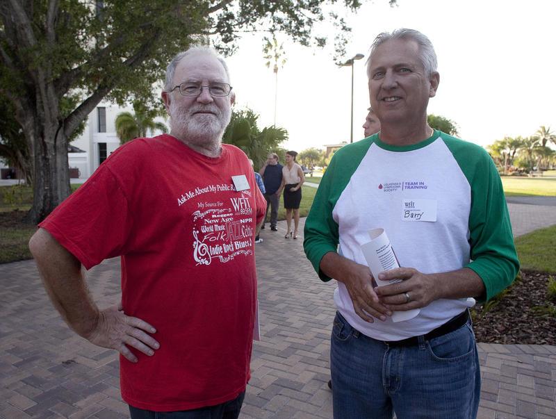 Stalwart volunteers Jay Lamy and Barry Birdwell.