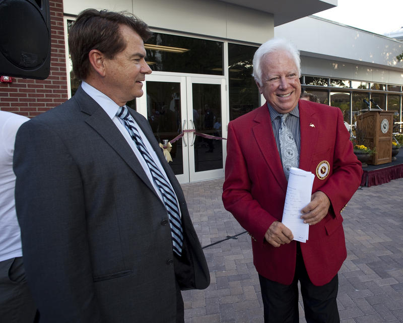Senator Thad Altman and Florida Tech president, Dr. Anthony Catanese.