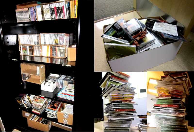 Let's just say we have a few CDs for you to choose from...