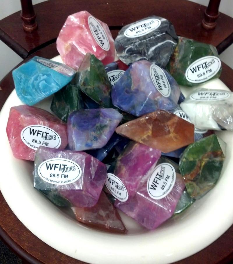 WFIT rocks - soap rocks!
