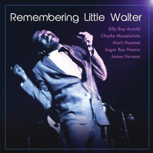 7.  Remembering Little Walter by Billy Boy Arnold, Charlie Musselwhite, Sugar Ray Norcia and James Harmon