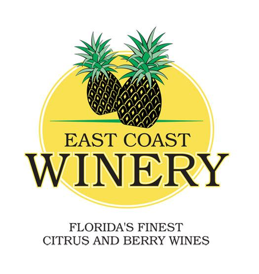 Wine tastes better when it's from Florida! East Coast Winery has citrus, berry and exotic wines for every palate. For your donation of $45 or more!