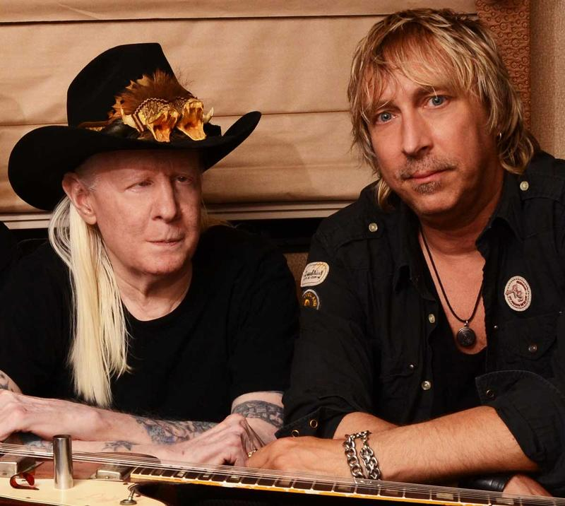 Johnny Winter and Paul Nelson