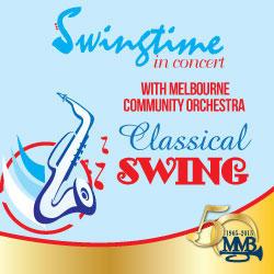 swingtime concert poster
