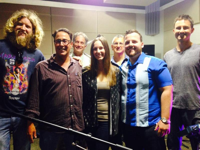 Lauren Marie and Band Live in Studio