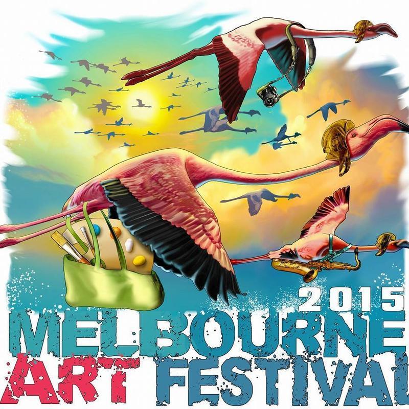 Melbourne Art Festival poster