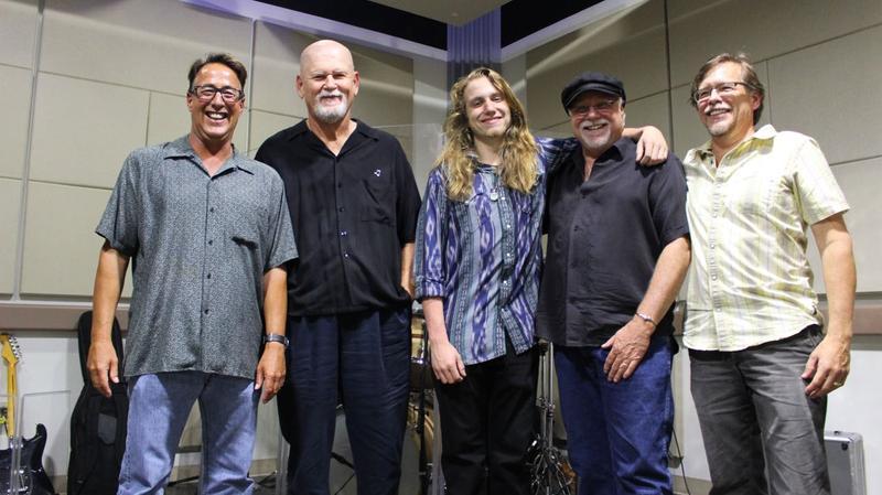 Daniel Heitz Band Live In Studio at WFIT