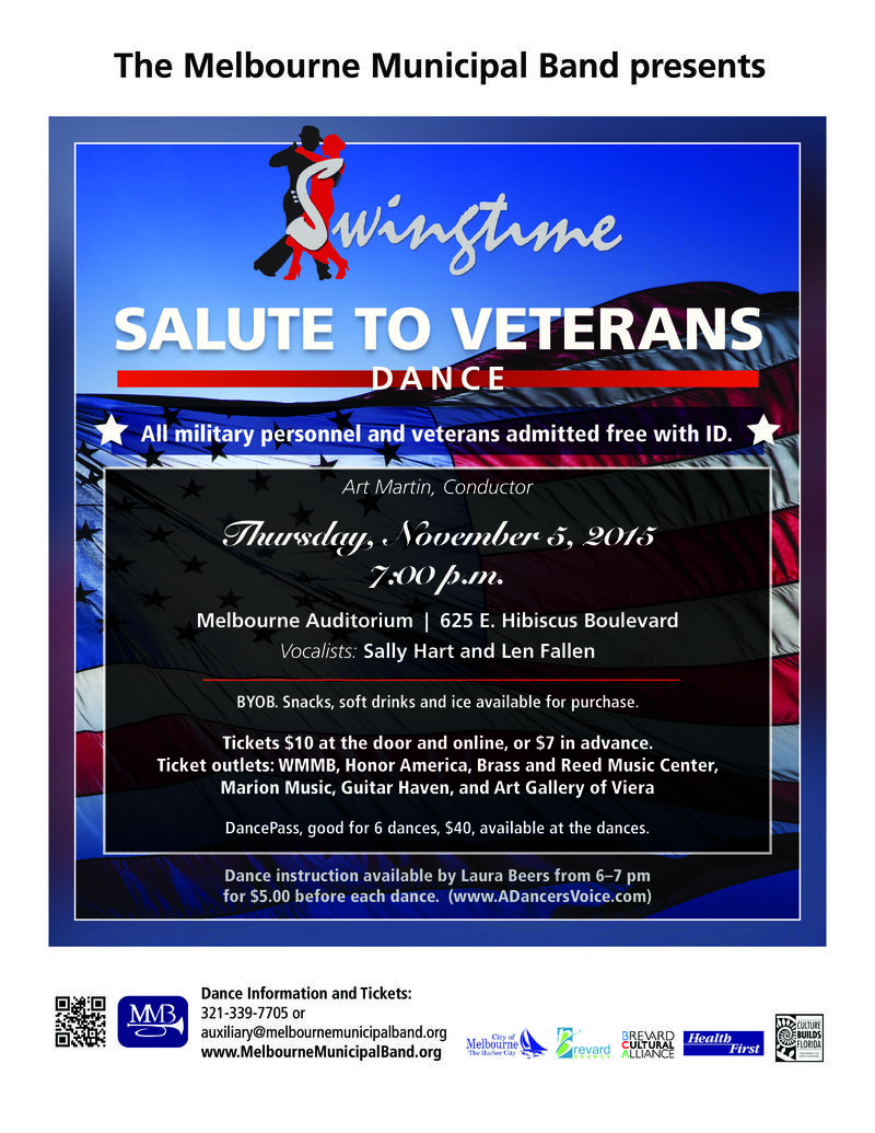 Salute to Veterans Poster