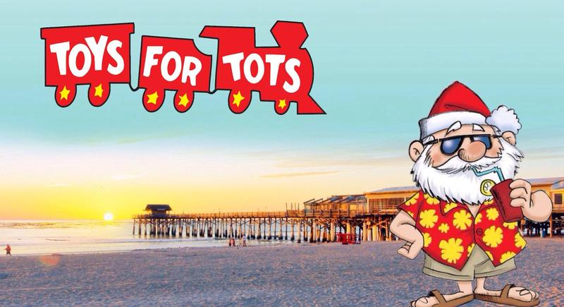 Toys for Tots Beach Bash at the Westgate Cocoa Beach Pier