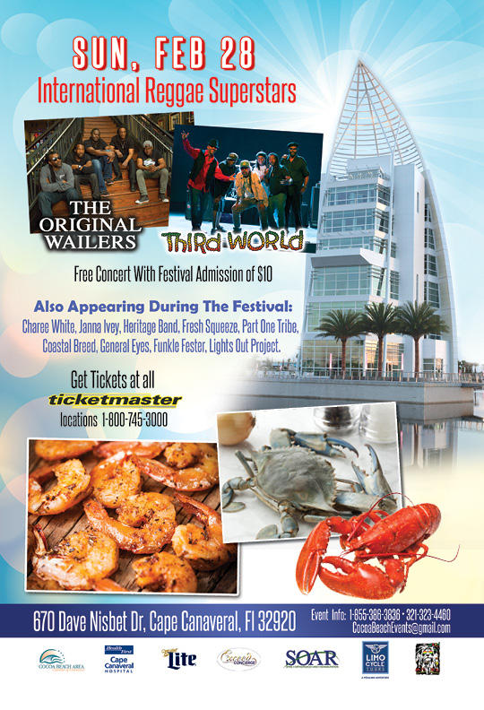 Port Canaveral Seafood & Music Fest Set For Feb. 26-28