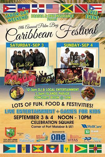 18th Annual Palm Bay Caribbean Festival