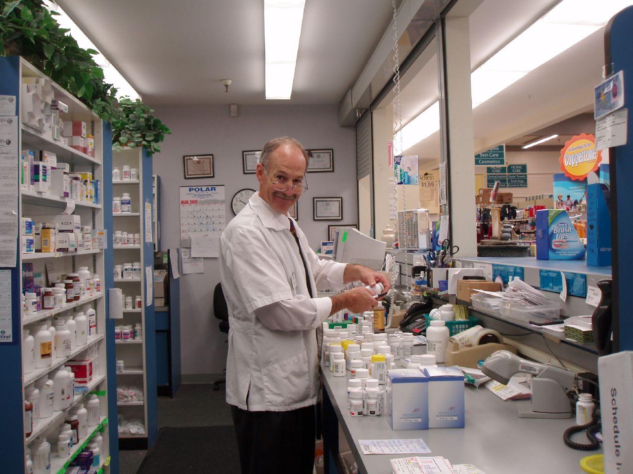 pharmacy rep