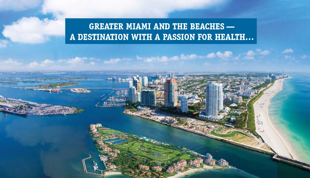 this page comes from a tourism brochure put out by the greater miami convention