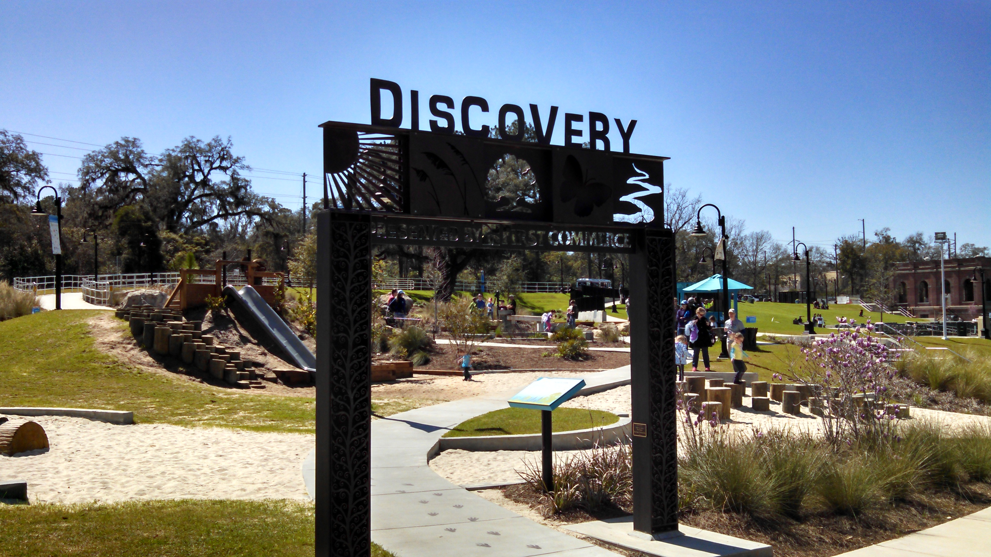 New concept proposals for debbie lightsey park wfsu tallahassees cascades park features a family play area called discovery thats become one of the parks most popular places malvernweather Gallery