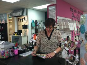 Kim Williams owns the Polka Dot Press in Tallahassee.