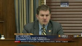 Congressman Dan Maffei, D-NY, Ranking Member of the House Science Oversight Committee
