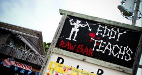 Owners at Eddy Teach's Raw Bar on St. George Island say they've lost thousands of dollars per seat at their restaurant because of the oyster shortage.