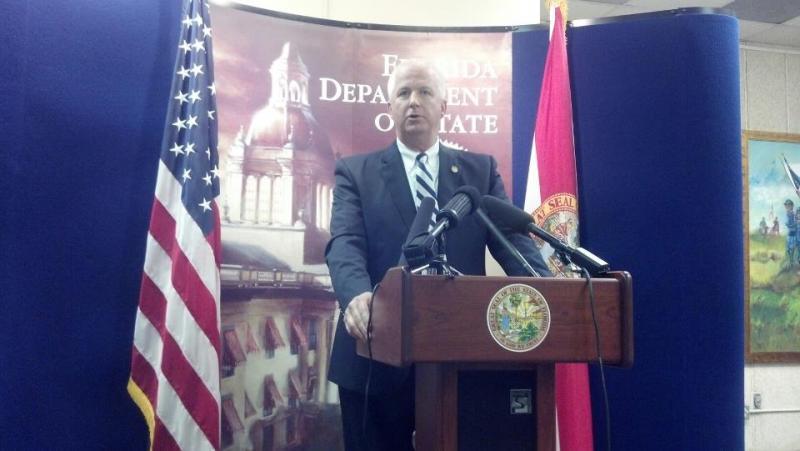 Secretary of State Kurt Browning