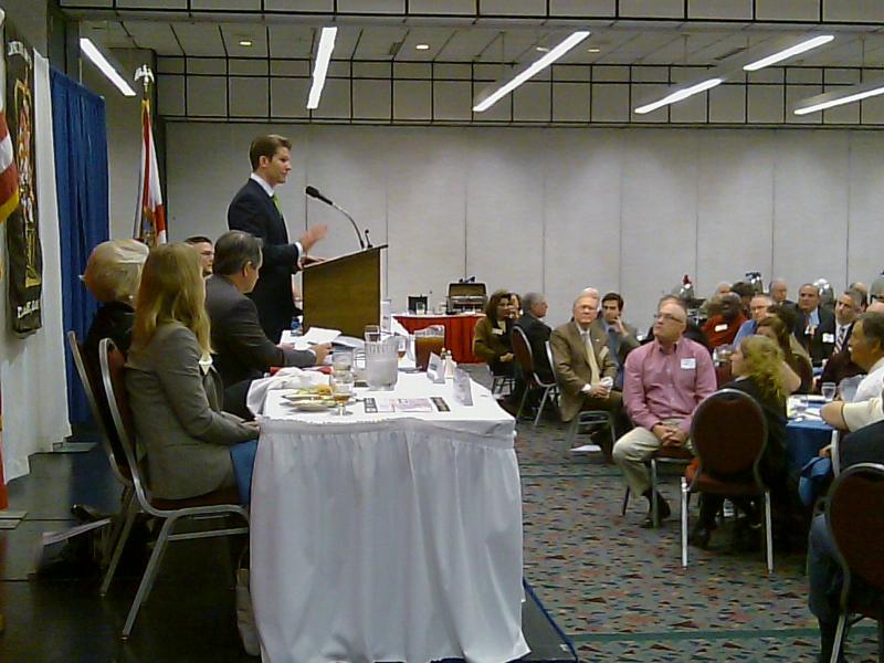 Tallahassee lobbyist Nick Iarossi talks casino gaming at town hall meeting