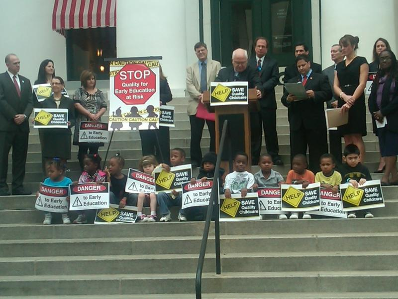 Early Learning and Child Advocates rally against legislative proposals