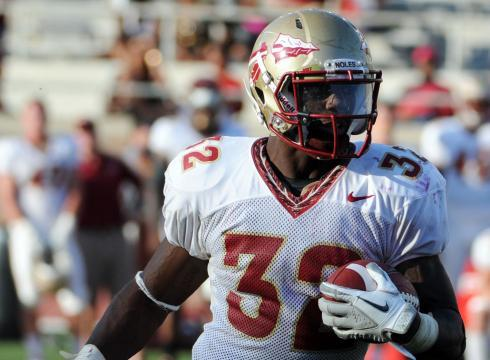 Florida State University running back James Wilder Jr. will spend the weekend in jail for a probation violation.