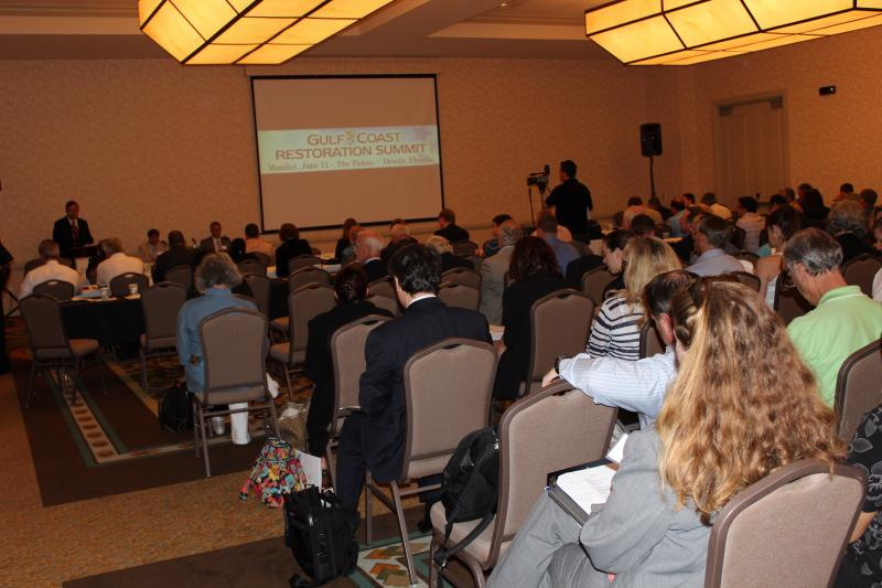 Gulf Coast Restoration Summit Attendees