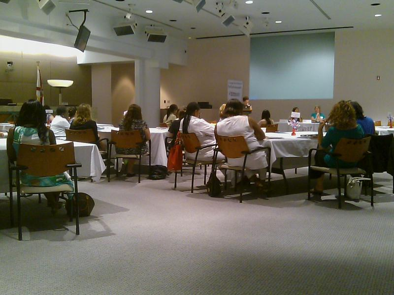 "Women explore political possibilities during the ""Women can Run"" workshop at Tallahassee City Hall"