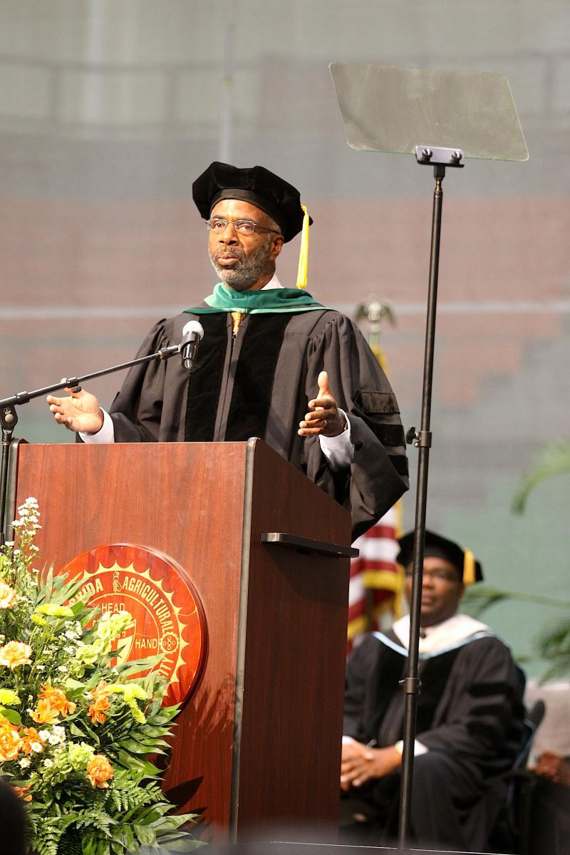 "Interim FAMU President Larry Robinson delivers the 'State of the University"" Address"