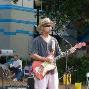 Hal Shows performing recently at Tallahassee's Kleman Plaza