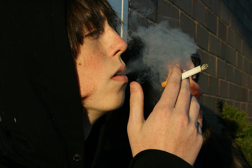 Teen Smoking Hits Record Low