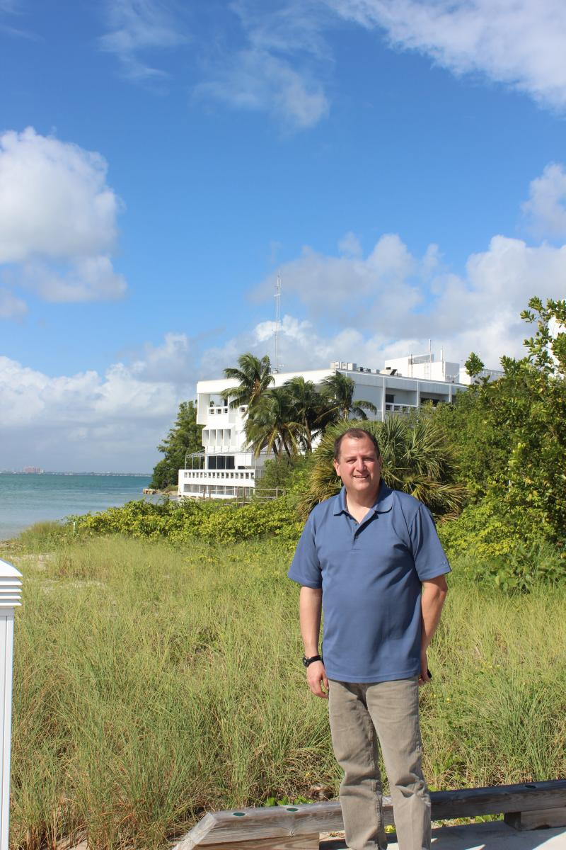 University of Miami professor Ben Kirtman does computer modeling of climate change. He signed the Union of Concerned Scientists' letter to Obama and Romney.