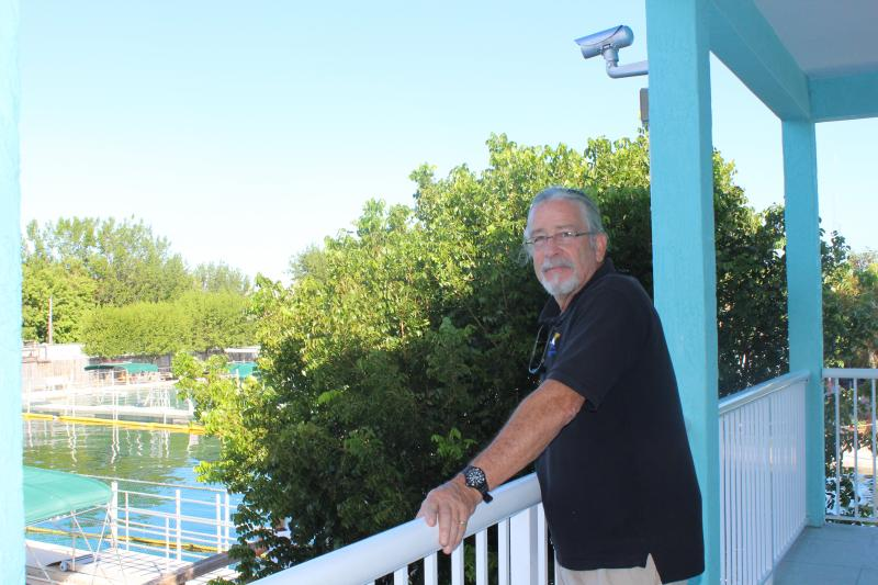 Island Dolphin Care co-founder Peter Hoagland