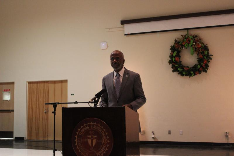 FAMU's Interim President Larry Robinson