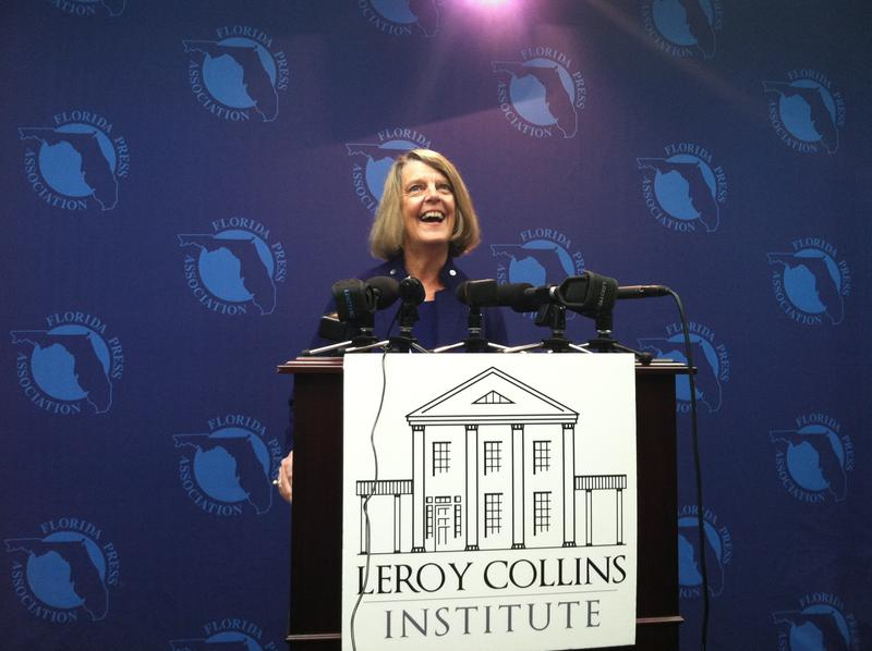 LeRoy Collins Institute director, Dr. Carol Weissert, talks about the report on Thursday