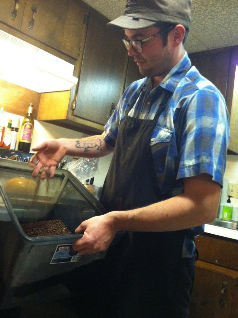 Williamson imports his cacao beans from the Dominican Republic. They're certified organic and fairly traded