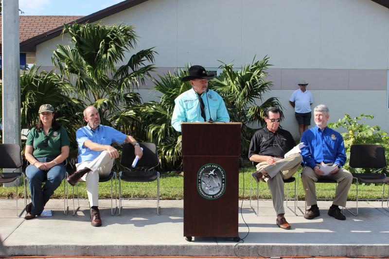 Florida Fish and Wildlife Commissioner, 'Alligator' Ron Bergeron