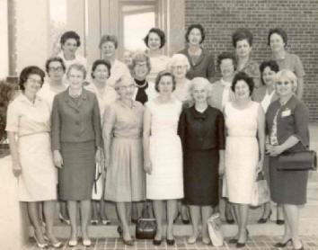 Aleene Kidd Mackenzie (front-left) and other members of the 1964 Commission on the Status of Women. Gov. Bryant appointed her the first chair of the commission.