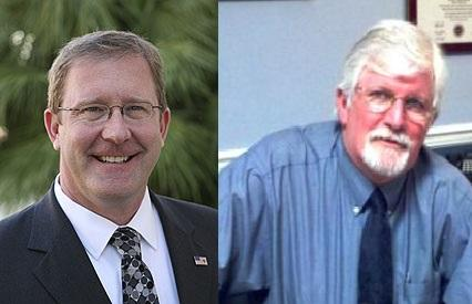 Dale Brill (left) and Ed Moore (right)