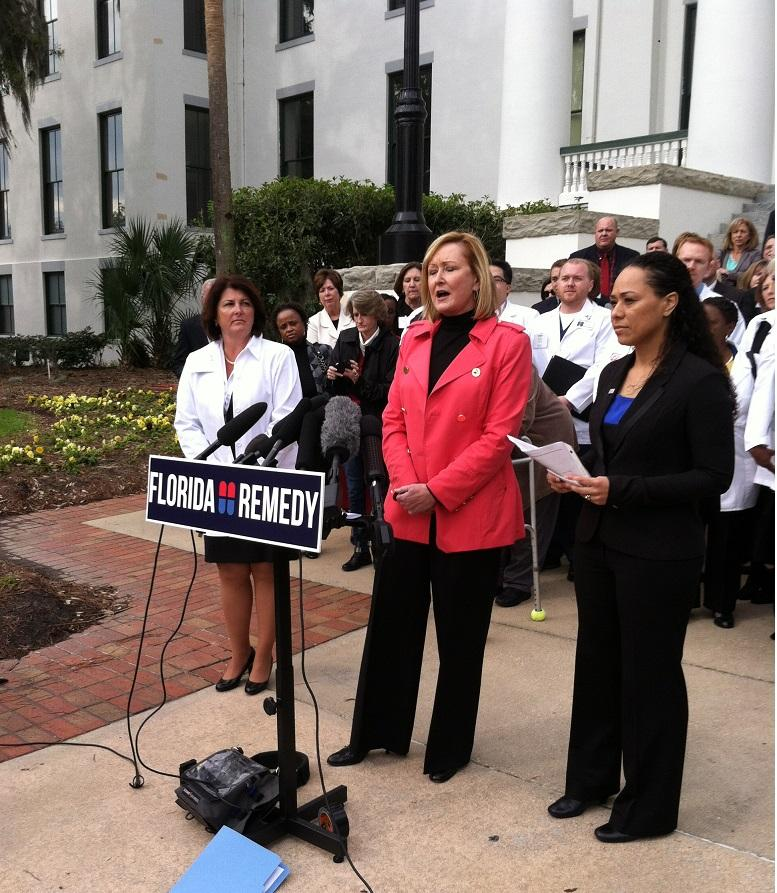 "The group,"" Florida Remedy"" is backed by the Florida Hospital Association"