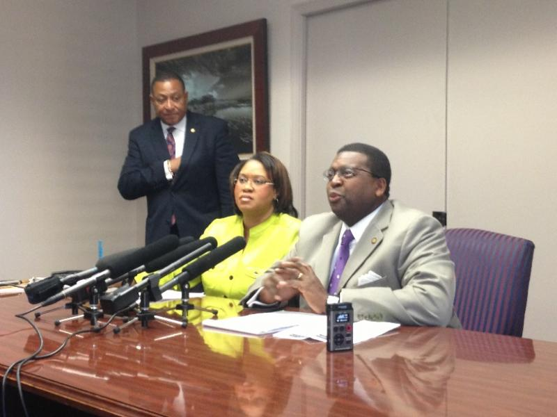 House Minority Leader Perry Thurston and Leader Pro Tempore Mia Jones discuss health care expansion.