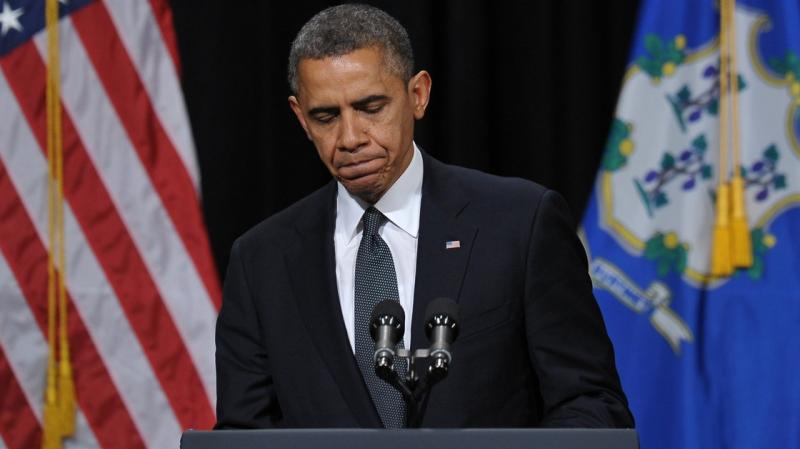 President Barack Obama speaks at a memorial service for victims of the Newtown, Conn., school shooting
